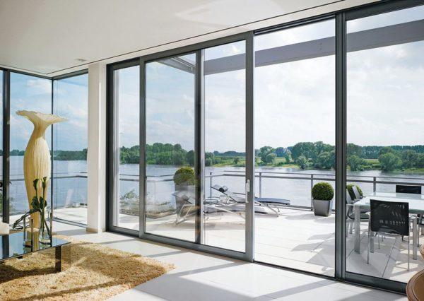 Nº1 - Puertas y ventanas correderas elevables de aluminio