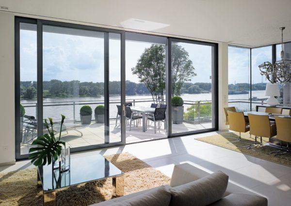 Nº2 - Puertas y ventanas correderas elevables de aluminio